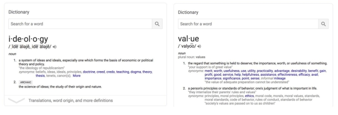 ideologycorevalue